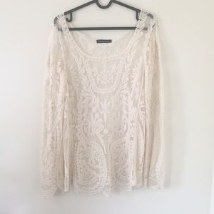 Beautiful lace long sleeve top